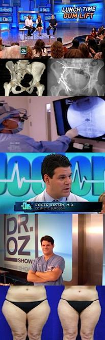 Doctor's P.R. clients on T.V.
